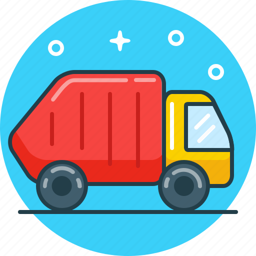 Car, dustbin, recycle, trash, vehicle icon - Download on Iconfinder