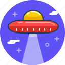 alien, invader, plate, spaceship, ufo icon