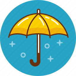 antivirus, protection, rain, security, umbrella icon