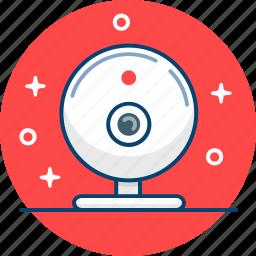 camera, conference, skype, webcam icon