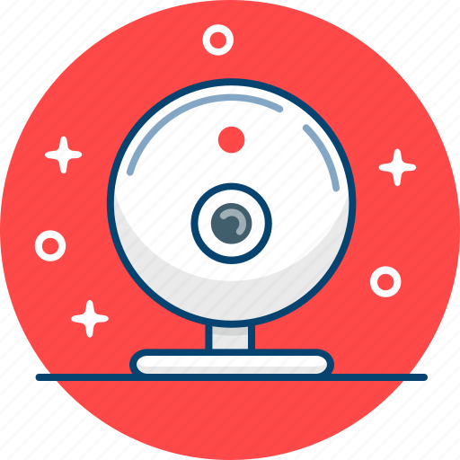 camera, conference, skype, webcam icon