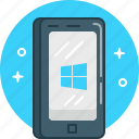 gadget, phone, smartphone, windows phone icon