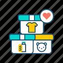 aid, charity, child, donation, humanitarian, volunteer, volunteering icon