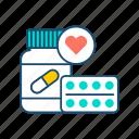 aid, charity, donation, healthcare, humanitarian, tablet, volunteering icon