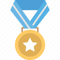 champion, medal, prize, winner icon