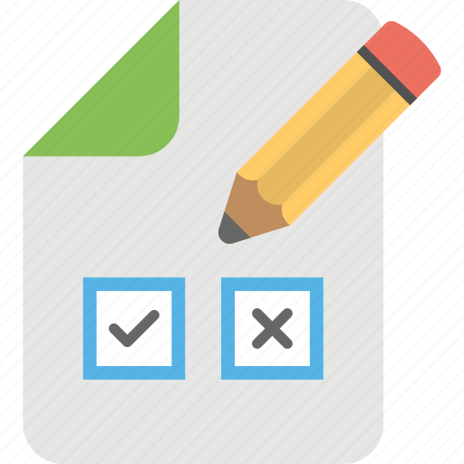 ballot paper, election campaign, vote list, voting, voting list icon