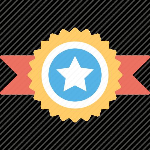 award badge, badge, quality symbol, reward, ribbon badge icon