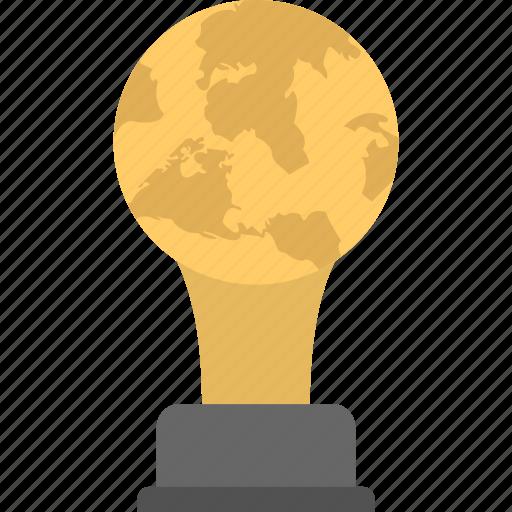 champions trophy, global trophy, golden globe award, golden trophy, international award icon