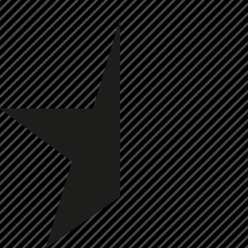 hafl, rating, start icon