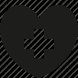 add, favorite, heart, love icon