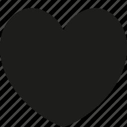big, favorite, heart, love icon