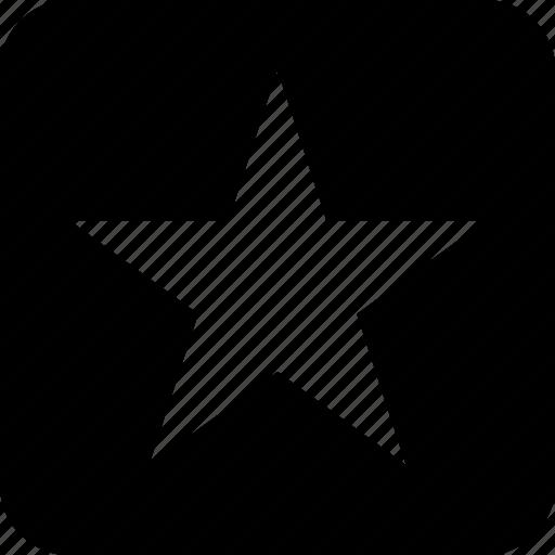 box, star icon