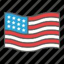country, usa, nation, star, flag, american