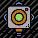 business, camera, equipment, smiling, video, watching