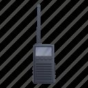 mobile, portable, talkie, technology, walkie icon