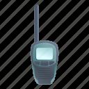 hand, medical, talkie, walkie icon