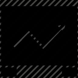 chart, economic, exchange, grow, wall street icon