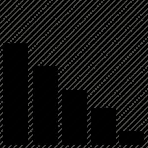 chart, crisis, ecomonic, wall street icon