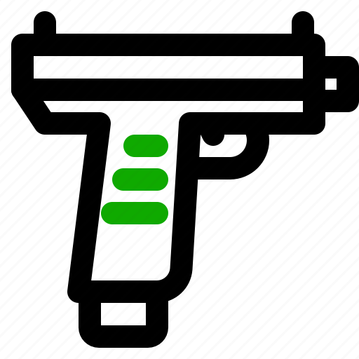 army, uzi, weapon icon