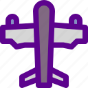 airplane, army, modern, weapon icon