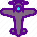 airplane, army, old, weapon icon