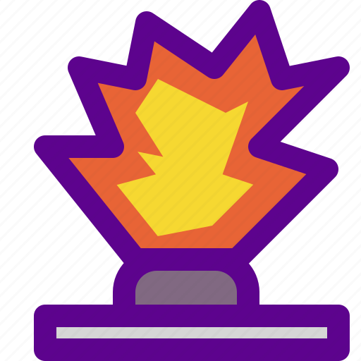 army, explosion, weapon icon