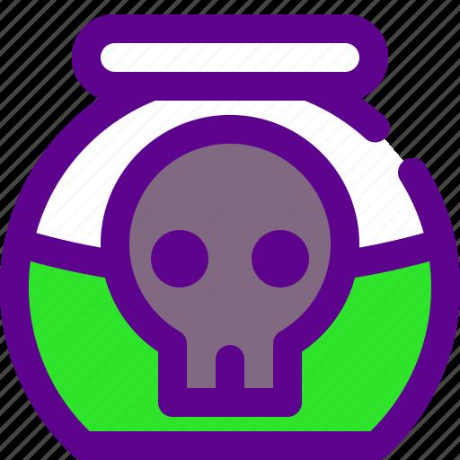 army, poison, weapon icon