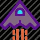 army, warplane, weapon icon