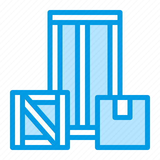 box, cargo, package, shipping, warehouse icon
