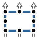 group, move, square, strategic, tactic icon