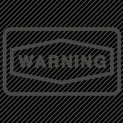 Alert, danger, notice, sign, warning icon - Download on Iconfinder