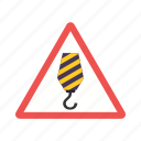 construction, engineer, maintenance, site, warning, work in progress, worker icon