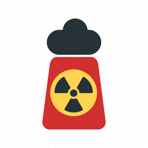 caution, danger, nuclear, radiation, safety, sign, warning icon