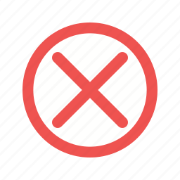 caution, cross, enter, line, no, police, tape icon