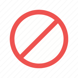 forbidden, no, prohibited, red, sign, stop, wrong icon