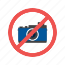 camera, information, photo, picture, prohibited, sign, stop
