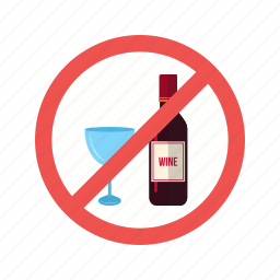 drinks, information, no, prohibited, shop, sign, water icon