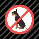 allowed, dog, no, park, pet, pets, sign
