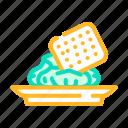 snack, wasabi, japanese, spice, sushi, meat