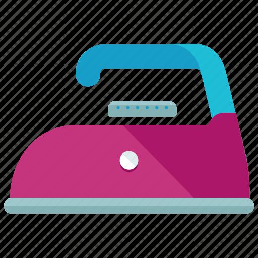 clothing, heat, instructions, ironing, low, machine, washing icon