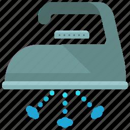 clothes, clothing, instructions, ironing, machine, steam, washing icon