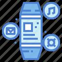internet, technology, watch, wireless icon