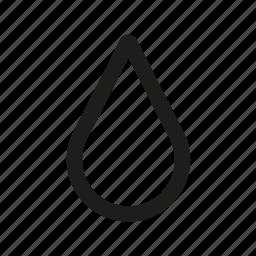 drop, ink, rain, water icon