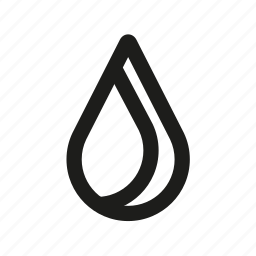 blood, drop, droplet, water icon
