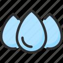 drop, water