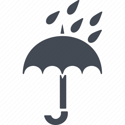 drop, fresh, nature, rain, spray, transparent, water icon