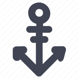 activities, anchor, marine, ocean, ship, water, yacht icon