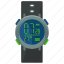 accessories, activities, diving, equipment, watch, water icon