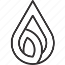 drop, fresh, life, water icon