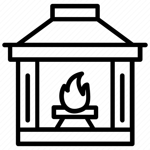 furnace, heater stove, heating stove, pellet stove, room stove icon